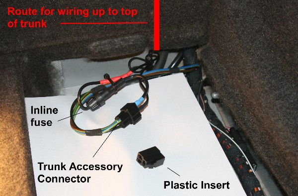 Power Source In The Trunk    Trunk Cooler